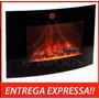 Lareira Elétrica Etna De Parede 110v K3 Pronta Entrega !!