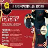 Cinta Abdominal Modeladora Ajustável Térmica Bio- Fitness