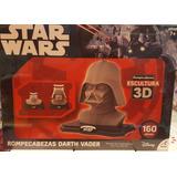 Rompecabezas 3d Escultura Darth Vader Star Wars