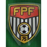 Patch Fpf Federação Paulista De Futebol Camisa Arbitragem