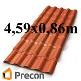 Telha Colonial Pvc Precon 4,59m Por 0,86m / 4,59x0,86m