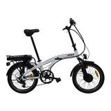 Bicicleta Electrica Rocket 250w Shimano Aluminio Suspension