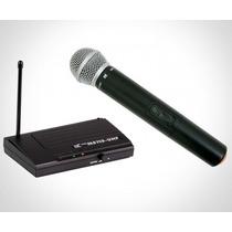 Microfone S/fio Tsi Ms115-uhf C/maleta - 5840
