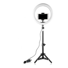 20 Cm / 10 Polegadas Mini Led Video Ring Light Lamp