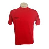 Camiseta Bombeiro Civil Vermelha Novo Modelo Pp Unissex