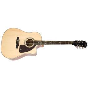 Guitarra Epiphone Electacustica Aj-220sce Eq Y Tuner