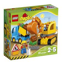 Lego Duplo Ciudad Camión Excavadora A Orugas 10812 Preescola