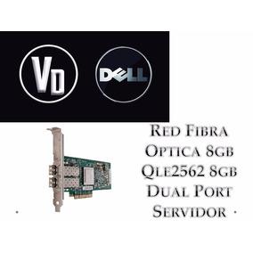 Red Fibra Optica 8gb Qle2562 8gb Dual Port Servidor
