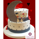 Torta Decorada - Novios