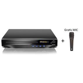 Dvd Player Com Saida Hdmi 5.1 Canais/ Karaoke/ Usb -com Mic