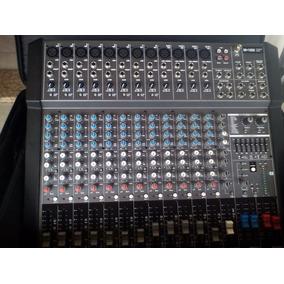 Consola Amplificada 12 Mic-8 Lines 500w