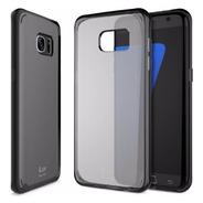 Funda Iluv Samsung S7 Edge Vyneer Black 100% Original
