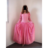 Fantasia Princesa Bela Adormecida Luxo Adulta