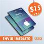 Itunes Gift Card 15 - Turbine Seu Ipod Iphone E Ipad! Usa