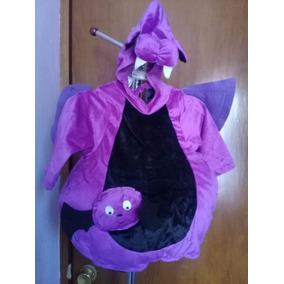 ¡llegó Halloween! Disfraz De Murcielago Para Niño/a Talla 1