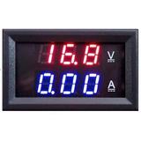 Voltímetro Amperímetro Digital Dc 100v 10a Painel Led