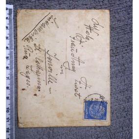 Envelope Da Segunda Guerra Mundial Enviado Alemanha / Brasil