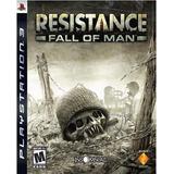 Resistance Fall Of Man Ps3 Playstation Nuevo Y Sellado Juego