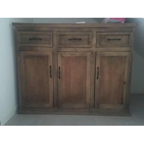 Mueble De Madera Para Cocina O Living