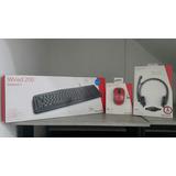 Combo Mouse Inalambrico+teclado+life Chat Microsoft