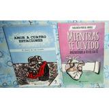 Regalo + Libro Amor A Cuatro Estaciones + Mientras Te Olvido