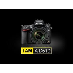 Nikon D610 Body Reflex Nueva Garantía Loc Envíos