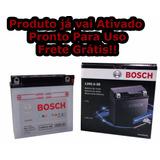 Bateria Para Ybr 125 Bosch Moto Yamaha Es/ed/k 2000 Até 2013