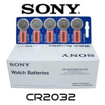 Bateria Lithium Cr2032 3v Sony Cartela C 30 Unidades Pla Mãe