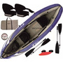 Kayak Canoa Inflable Sportek Frontier+asientos+remos+bolso