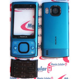 Carcaça Nokia 6700 Azul Metal Completa C/ Teclado