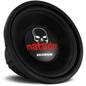 Subwoofer Selenium Matador Jbl 15 Polegadas 600w Rms 15sw10a