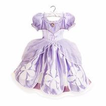 Vestido Disfraz Princesa Sofía I Marca Disney 100% Original