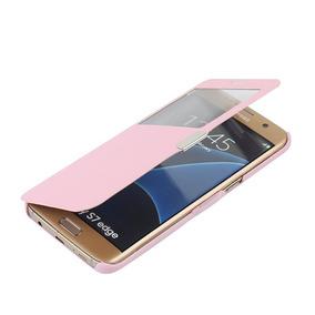 S7 Edge Case Galaxy S7 Edge Case Mtronx Window View M -rosa