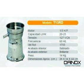 Extractor Jugo Naranja Industrial De Acero Inoxidable