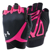 Luva Under Amour Coolswitch Flux Training Preto Com Rosa G