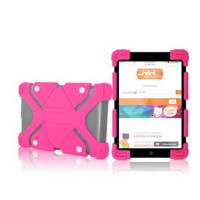 Funda Tablet 10 Pulgadas Uso Rudo Ajustable Universal Niños