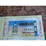 Billetes De La Loteria Provincia De Buenos Aires Antiguos