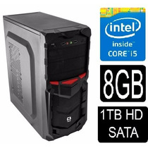 Pc Cpu Intel Core I5 3.2 Ghz+ 8gb+ 1tb + Windows 7 + Office