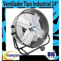 Ventilador De 24 Pulgadas Industrial Tipo Tambor Big Air