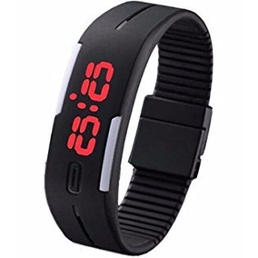 Relógio Pulseira Digital Led Bracelete Preto