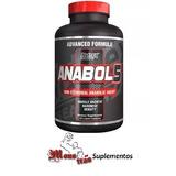 Anabol 5 Black - Nutrex - 120 Cápsulas Liquidas - Hormonal