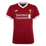Camiseta Liverpool New Balance 2017/18 Home - Personalizado
