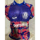Camisa Palmeiras Goleiro Rhumell Parmalat Tam G Num 1