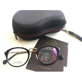 Oculos Redondo Sem Grau Preto - Óculos em São Paulo Centro no ... c233f85aff