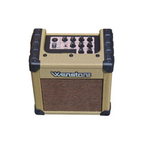 Amplificador Multiple Wenstone Cube 15e 2 Canales Mic+guitar
