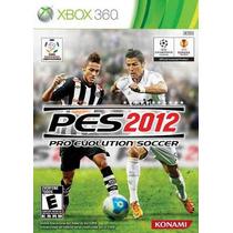 Pes 2012 Original Xbox360 Pouco Uso