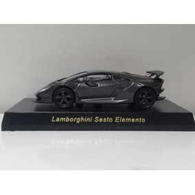 Lamborghini Sesto Elemento Kyosho 1/64 Cinza