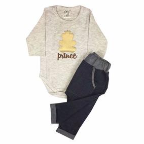 Conjunto Bebê Body E Calça Saruel Prince