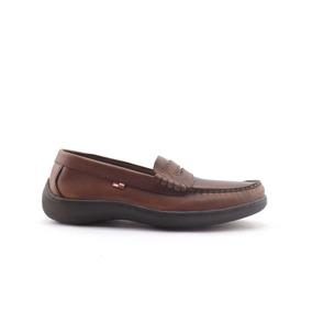 Zapatos Boating Hombre Nautico Vincha 100% Cuero Nuevos