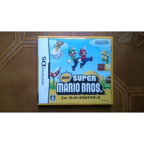 New Super Mario Bros Org Jap Completo P/ Nintendo Ds. Kuy